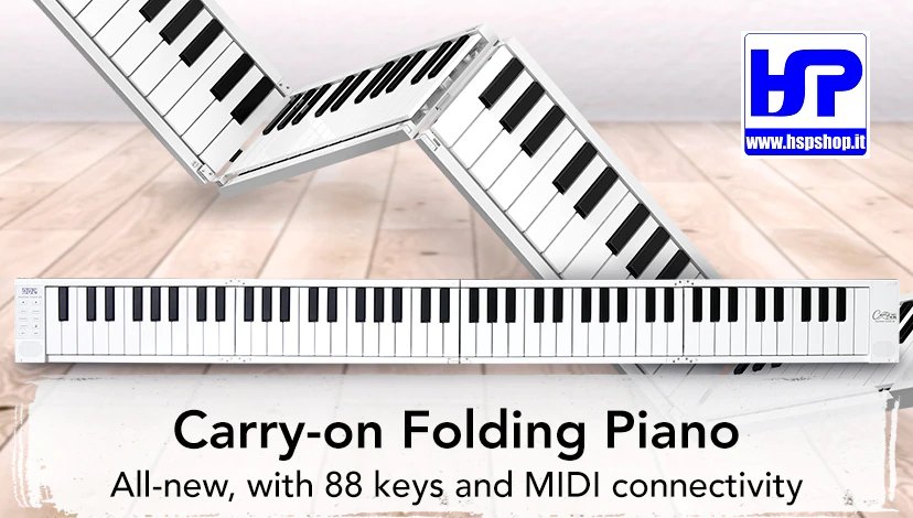 BLACKSTAR - Carry On Folding Piano - 88 TASTI