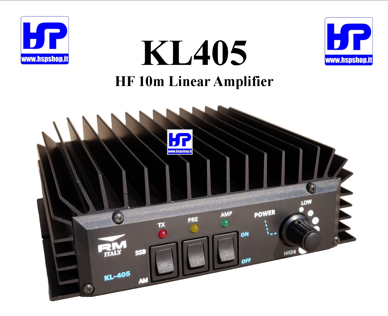 RM ITALY - KL405 - HF WIDE BAND AMPLIFIER