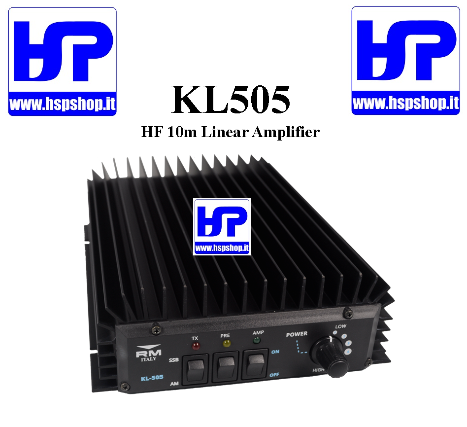 RM ITALY - KL505 - HF WIDE BAND AMPLIFIER